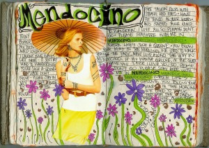 """Today, Mendocino -- its flowers, breeze, attitude, mist -- was on my mind. I was inspired to do an entry about the cheezy song, """"Mendosino"""" by the Sir Dougles Quintet (and sung by others)."""