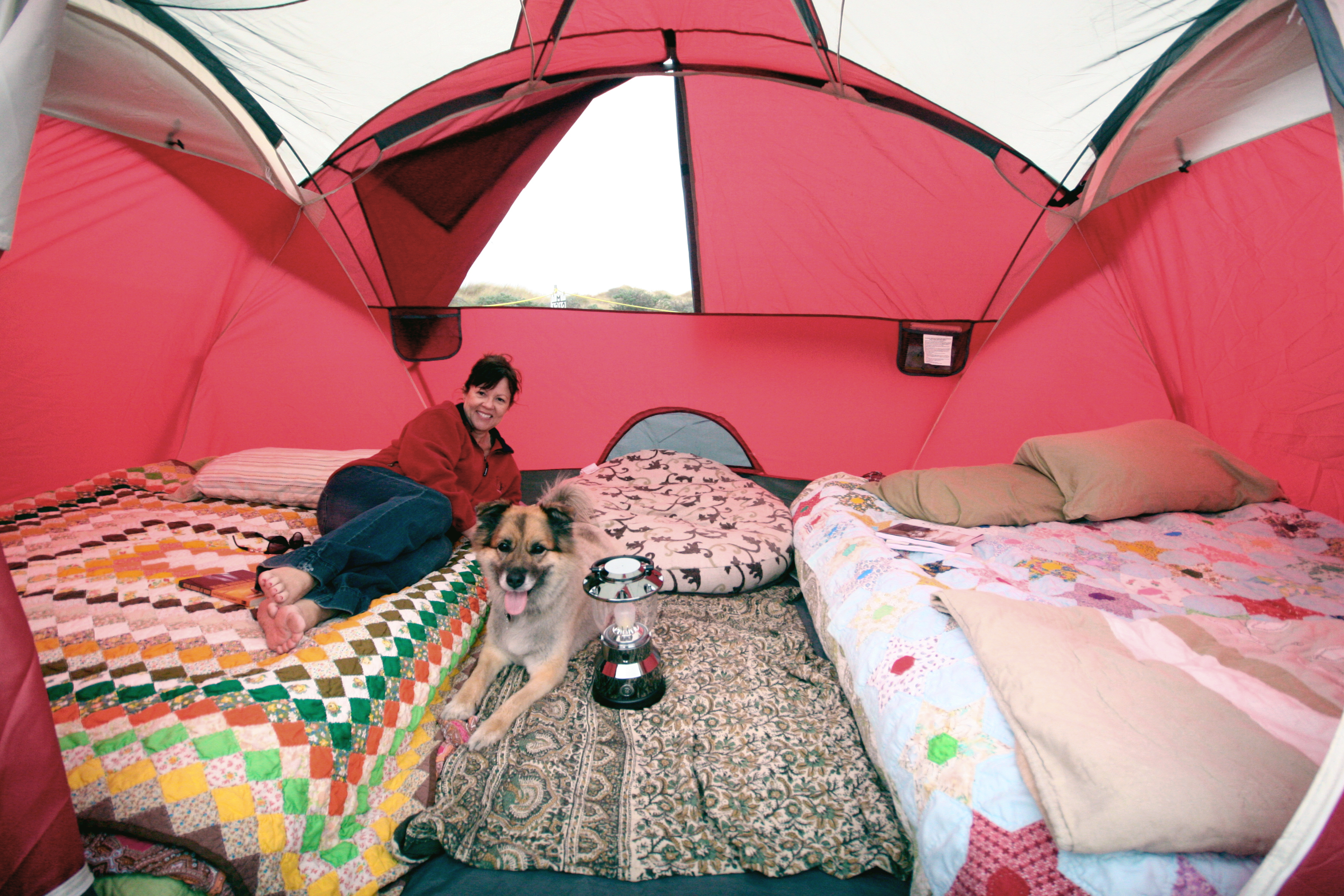 Our cozy little u2014 big u2014 tent Image Image Image & Girls just wanna beach camp |